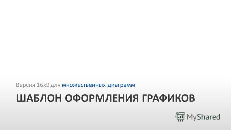 Slide GO.ru ШАБЛОН ОФОРМЛЕНИЯ ГРАФИКОВ Версия 16 х 9 для множественных диаграмм