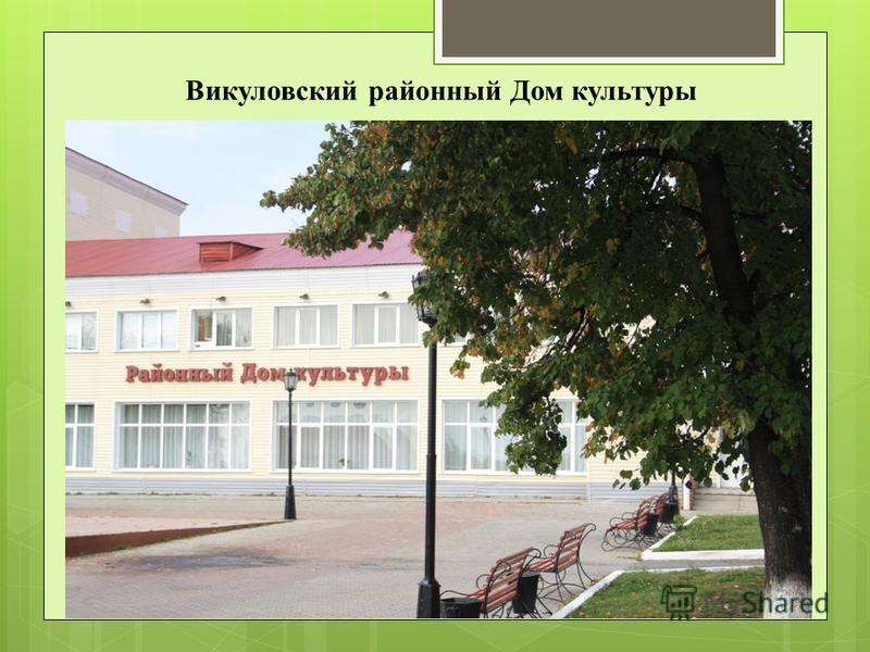 Викуловский районный Дом культуры