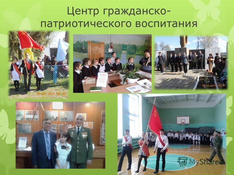 Центр гражданско- патриотического воспитания