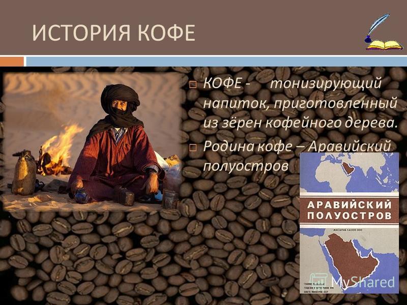 КОФЕ Выполнила Анастасия Сатина