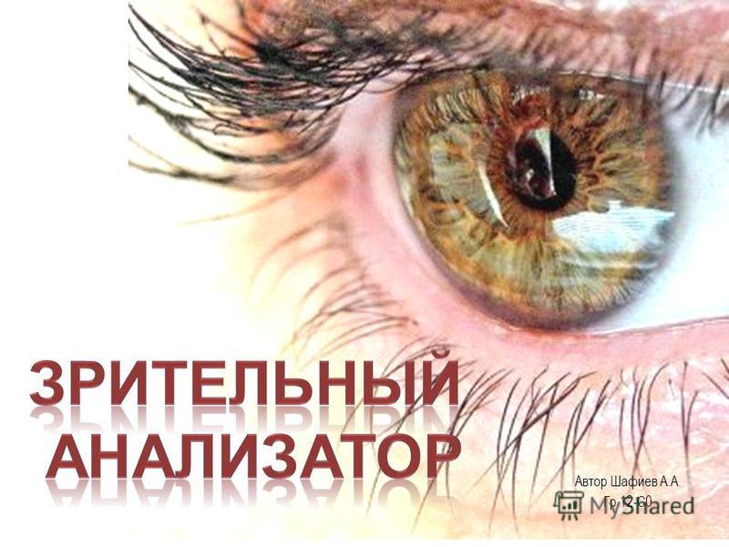 Автор Шафиев А.А. Гр.12-С0