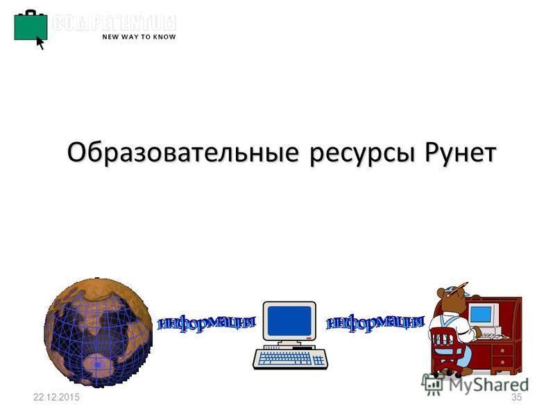 22.12.201535 Образовательные ресурсы Рунет