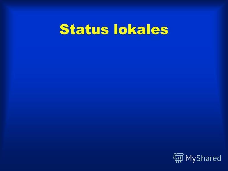Status lokales