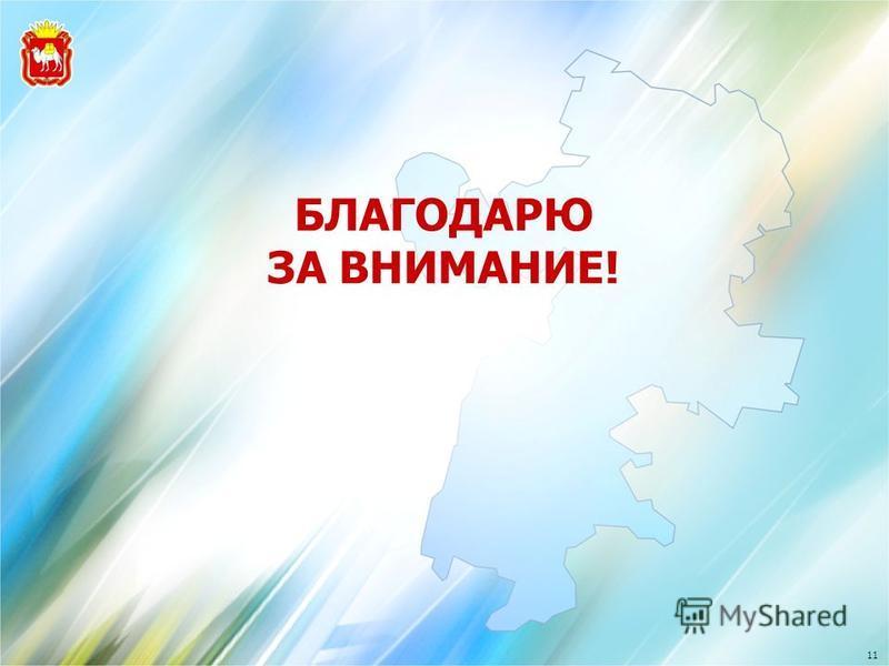 БЛАГОДАРЮ ЗА ВНИМАНИЕ! 11