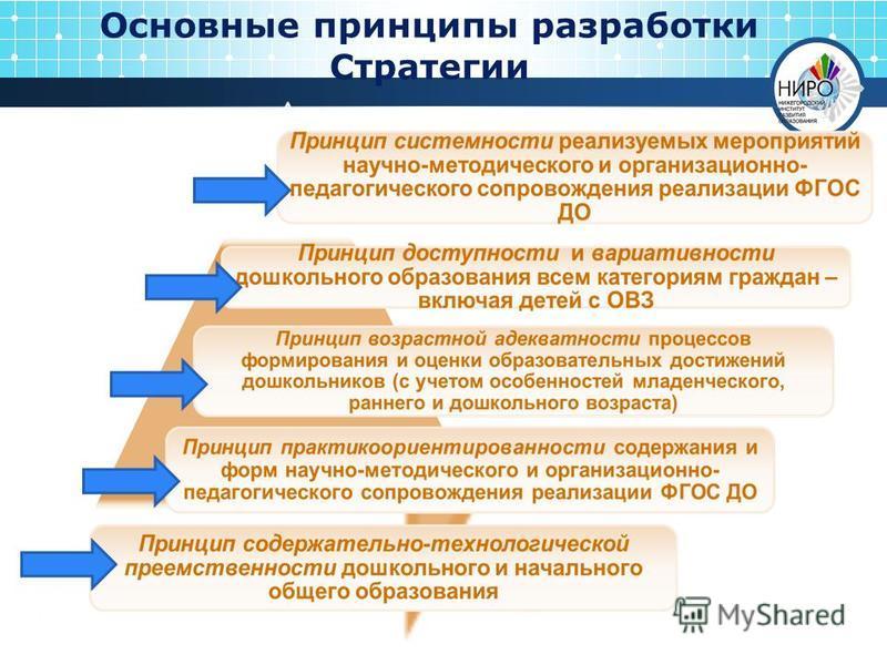 Основные принципы разработки Стратегии