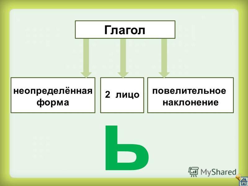 ь Имя прилагательное (краткая форма)