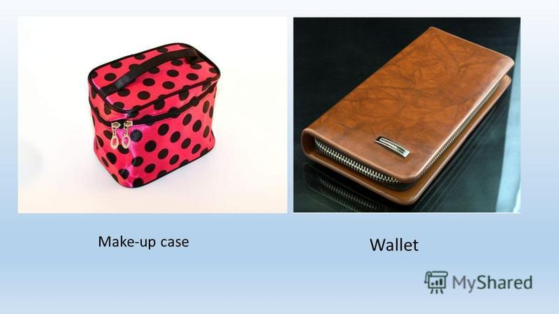 w Make-up case Wallet