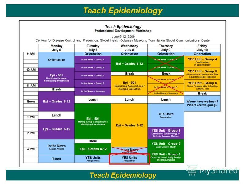113 Teach Epidemiology