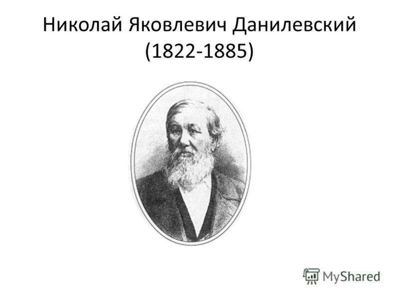 Николай Яковлевич Данилевский (1822 1885)