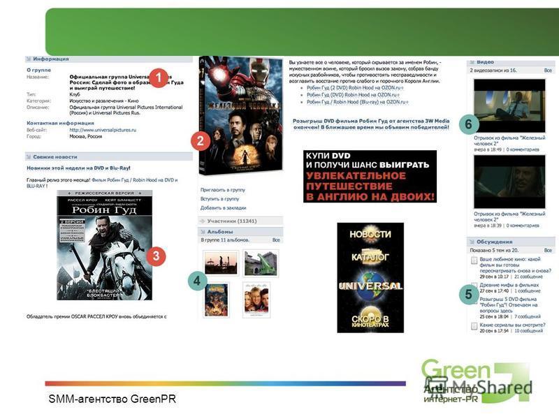 SMM-агентство GreenPR
