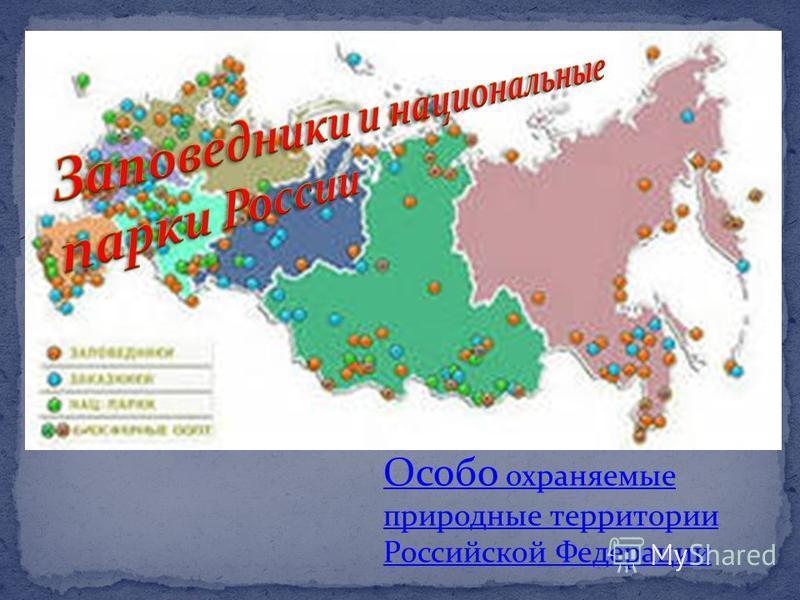 Заповедн ики и национальные парки Особо охраняемые природные территории Российской Федерации