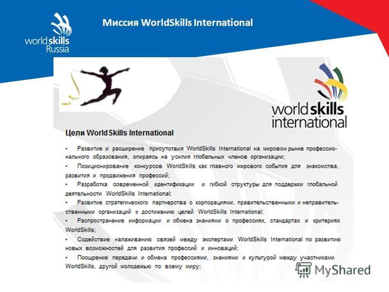 Миссия WorldSkills International WS Glasgow, 1965