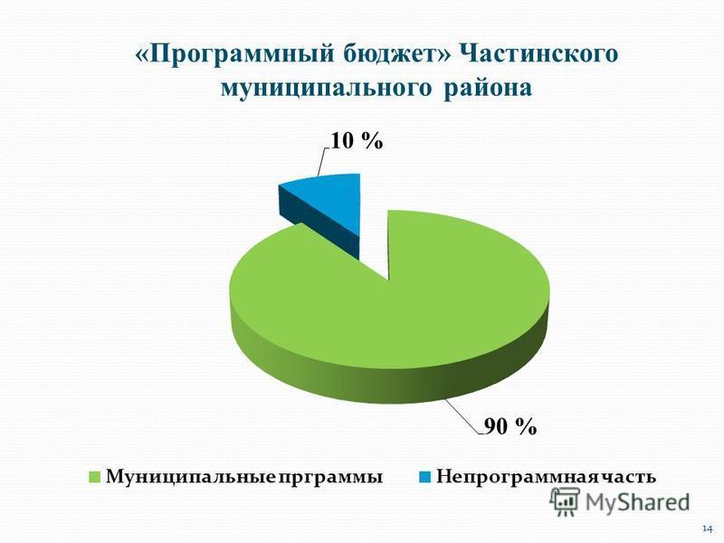 «Программный бюджет» Частинского муниципального района 14