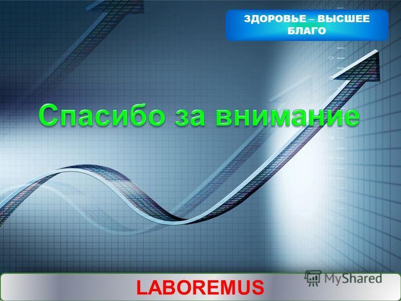 LOGO Add your company slogan LABOREMUS ЗДОРОВЬЕ – ВЫСШЕЕ БЛАГО