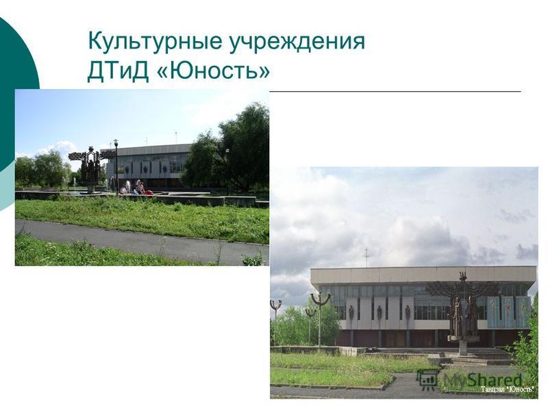 Культурные учреждения ДТиД «Юность»