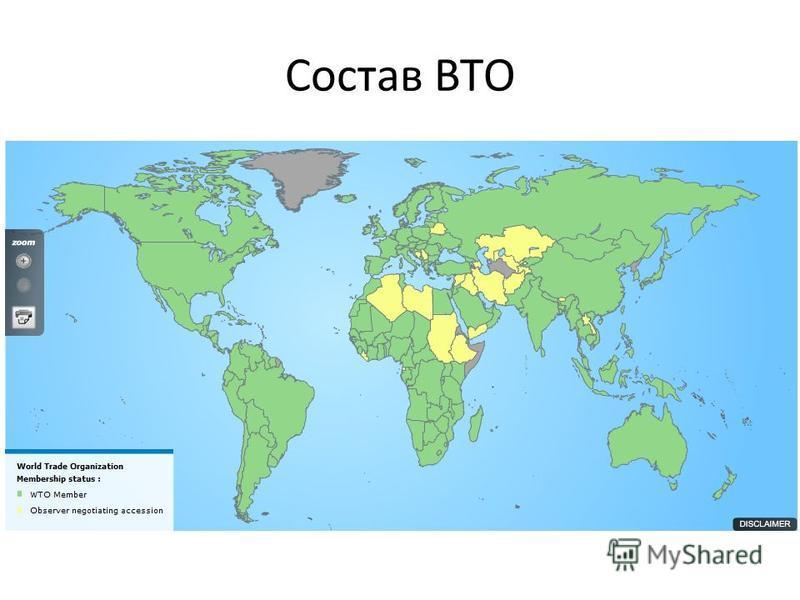 Состав ВТО