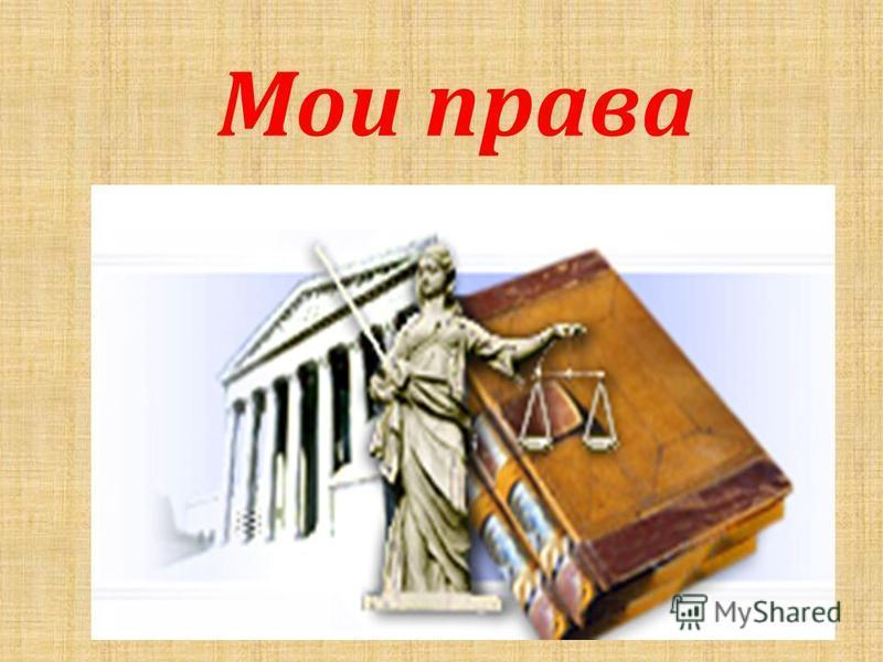 Мои права