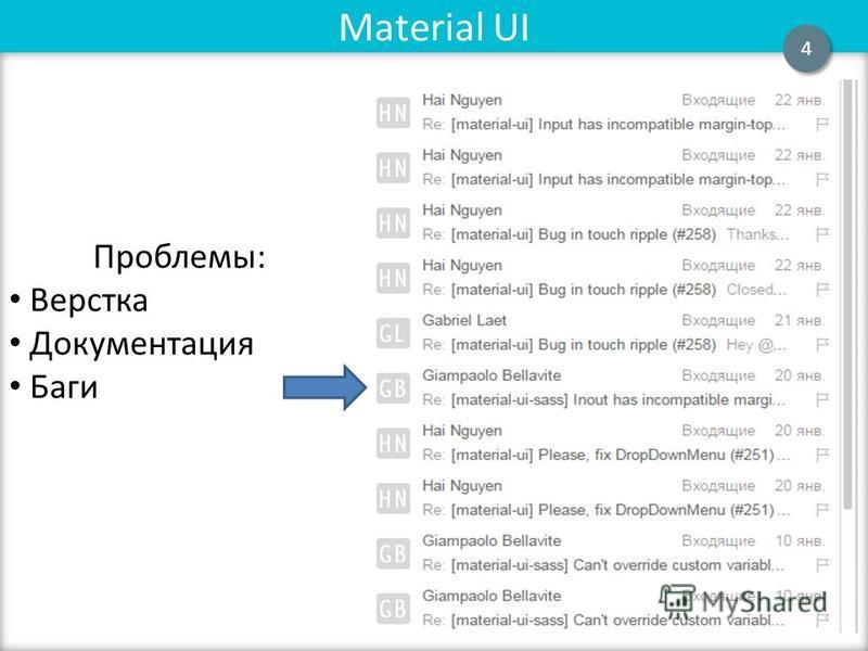Flux Material UI 4 4 Проблемы: Верстка Документация Баги