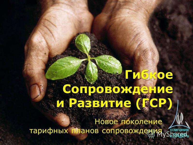Гибкое Сопровождение и Развитие (ГСР) Новое поколение тарифных планов сопровождения