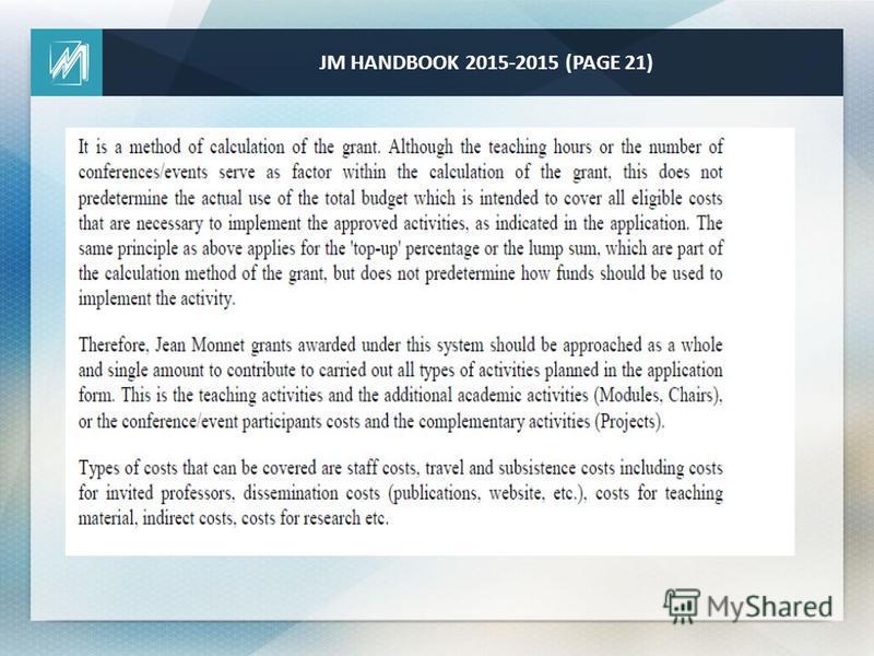 JM HANDBOOK 2015-2015 (PAGE 21)