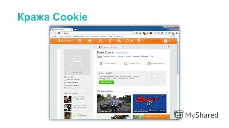 Кража Cookie