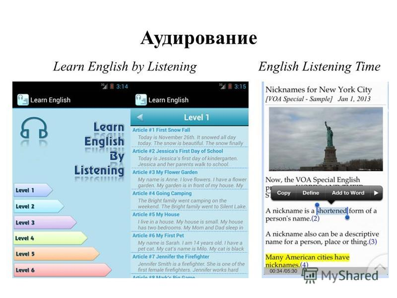 Аудирование English Listening Time Learn English by Listening