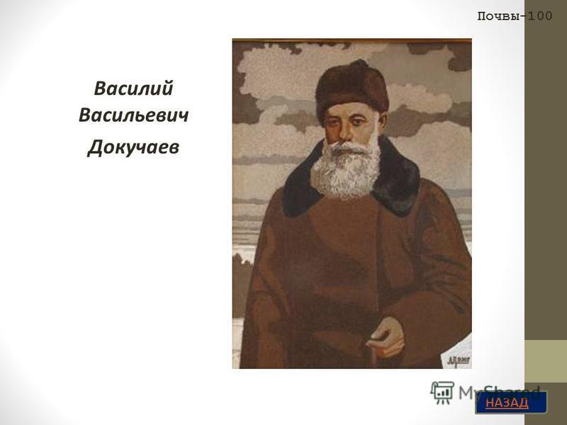 НАЗАД Василий Васильевич Докучаев Почвы-100