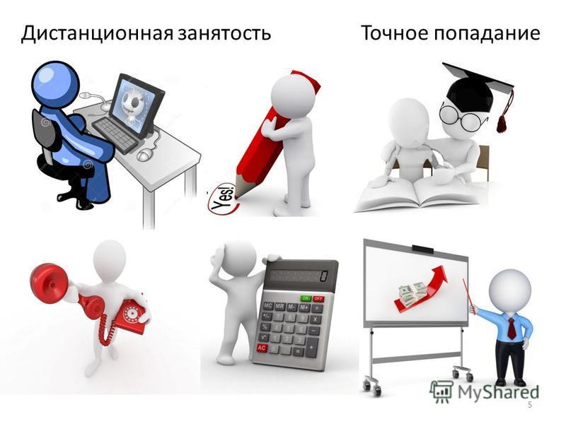 Дистанционная занятость Точное попадание 5