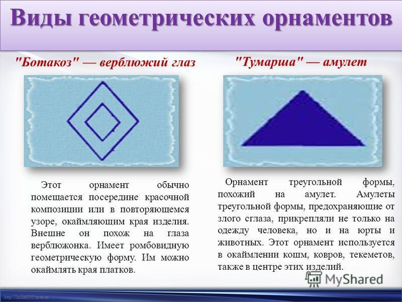 http://linda6035.ucoz.ru/ Виды геометрических орнаментов