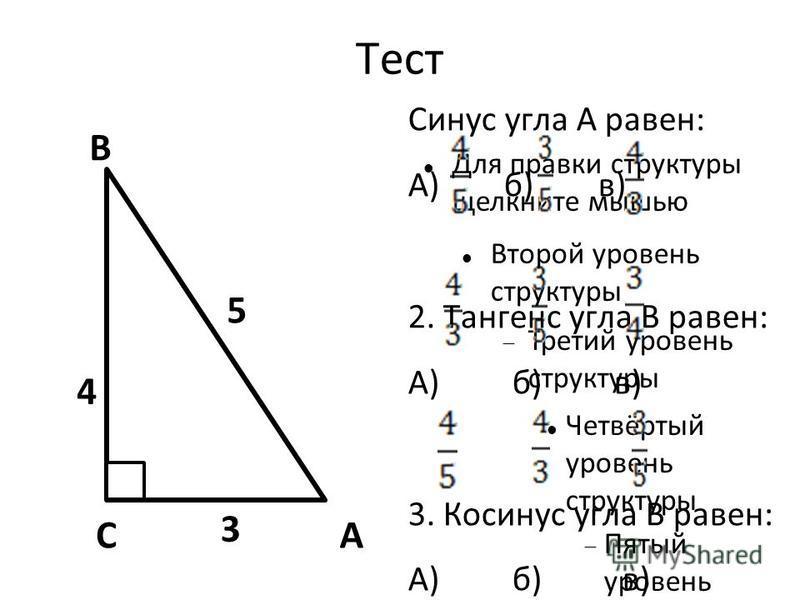 Для правки структуры щелкните мышью Второй уровень структуры Третий уровень структуры Четвёртый уровень структуры Пятый уровень структуры Шестой уровень структуры Седьмой уровень структуры Восьмой уровень структуры Девятый уровень структуры Образец т