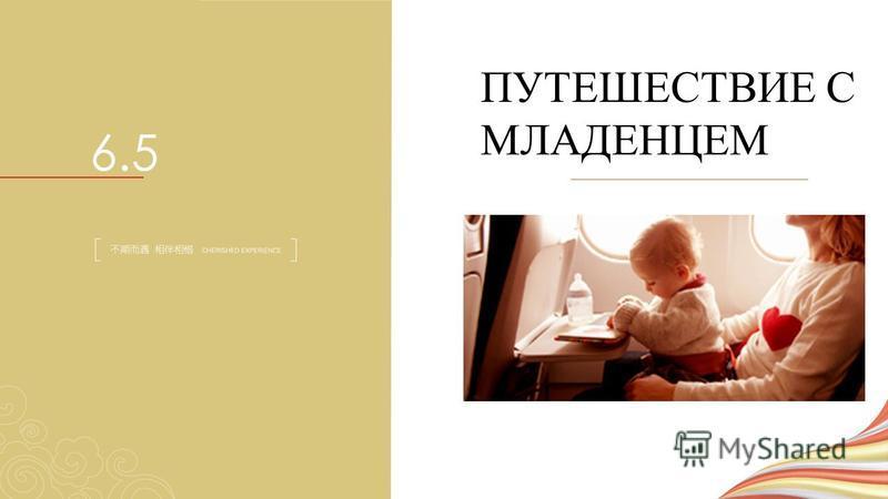ПУТЕШЕСТВИЕ С МЛАДЕНЦЕМ 6.5