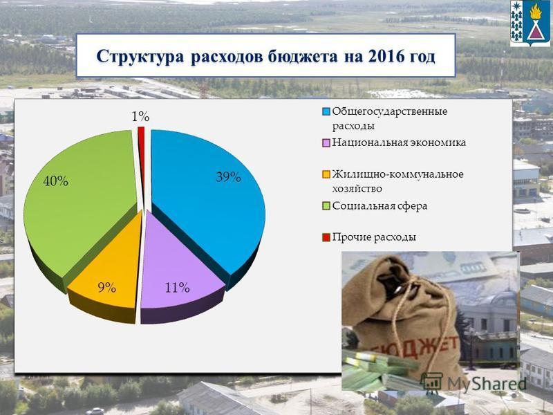 Структура расходов бюджета на 2016 год