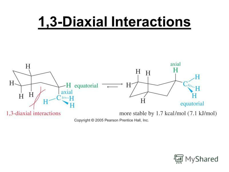 1,3-Diaxial Interactions