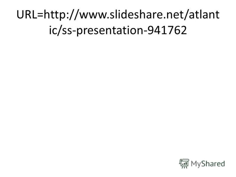 URL=http://www.slideshare.net/atlant ic/ss-presentation-941762