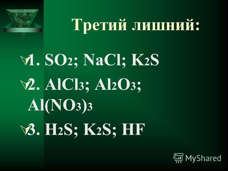 Соли K 3 PO 4 Cu(NO 3 ) 2 MgCO 3 Na 2 SiO 3 AlPO 4 KCl