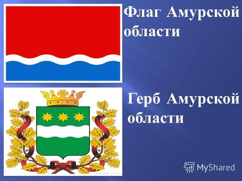 Герб Амурской области Флаг Амурской области