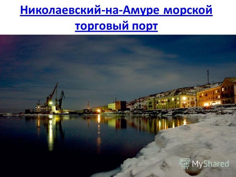 Николаевский-на-Амуре морской торговый порт
