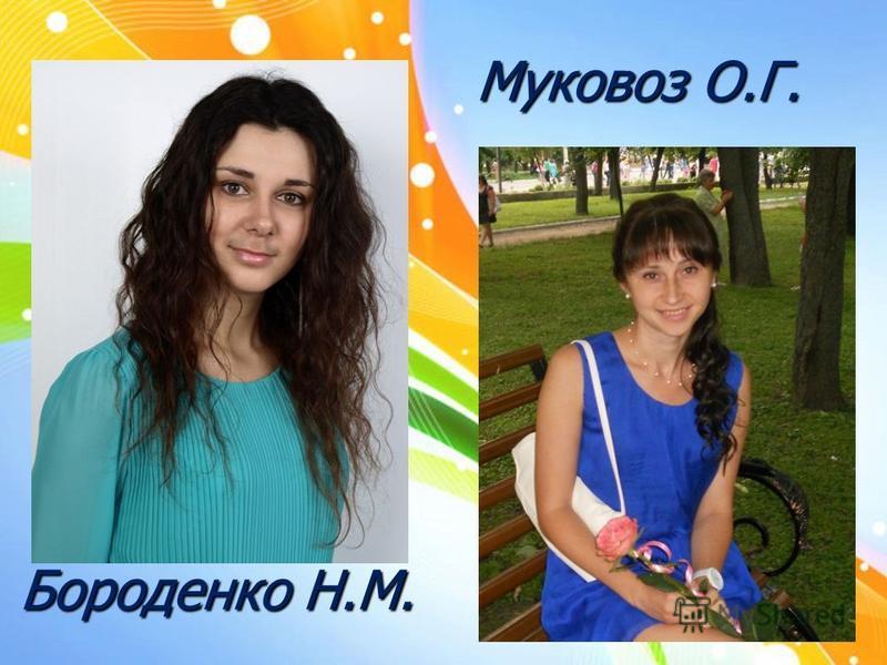 Бороденко Н.М. Муковоз О.Г.