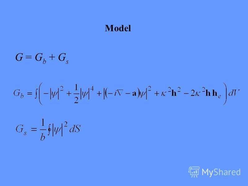 Model G = G b + G s