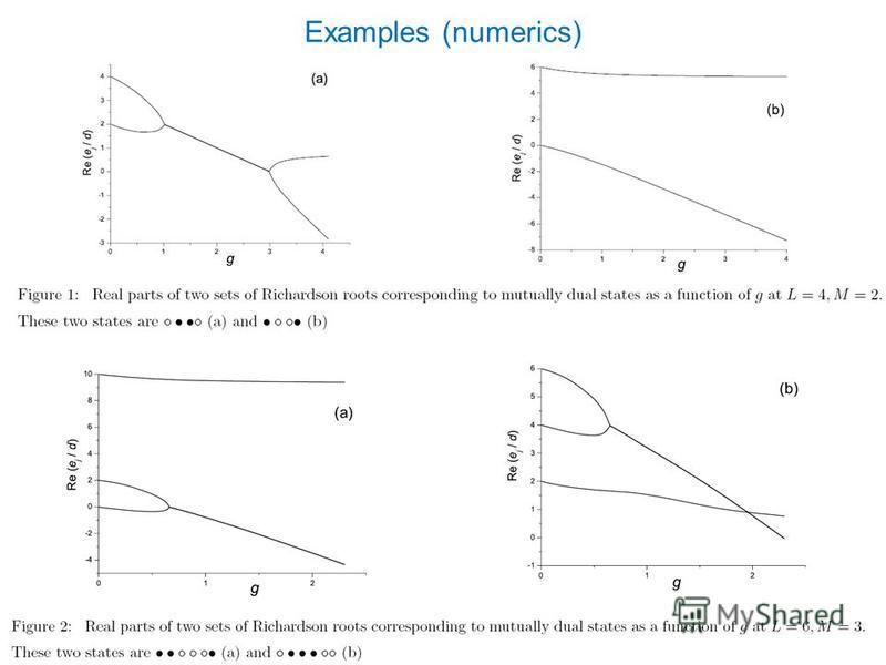 Examples (numerics)