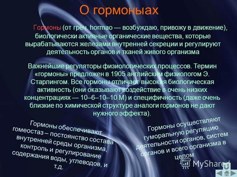 Презентация по химии по теме Гормоны Выполнили Новопольцев Олег Овакимян Артем Михаил Герасименко