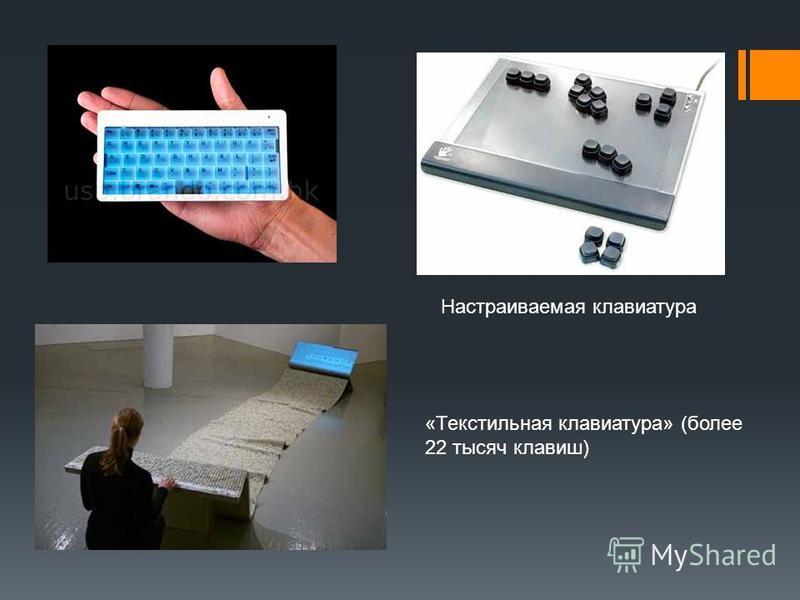 Настраиваемая клавиатура «Текстильная клавиатура» (более 22 тысяч клавиш)