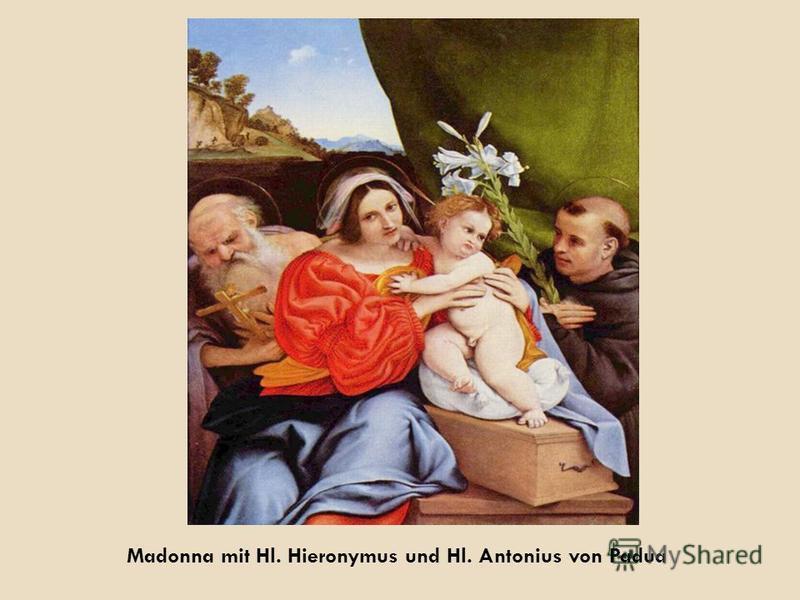 Madonna mit Hl. Hieronymus und Hl. Antonius von Padua