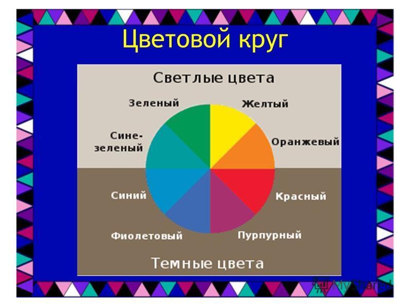 Магия цвета При работе с лоскутами, необходимо владеть цветовой грамотой Гармоничное сочетание контрастных цветов