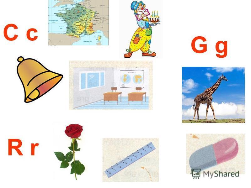 G g R r C c