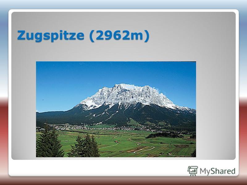 Zugspitze (2962m)