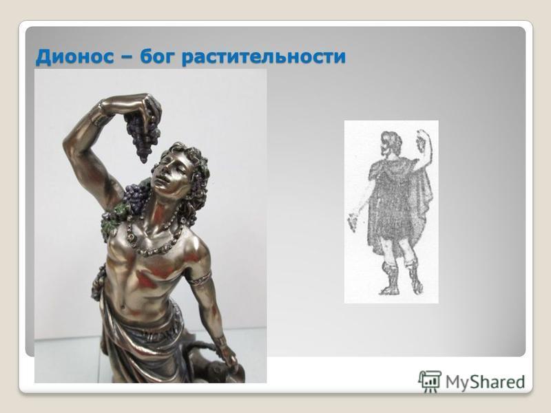 Дионос – бог растительности