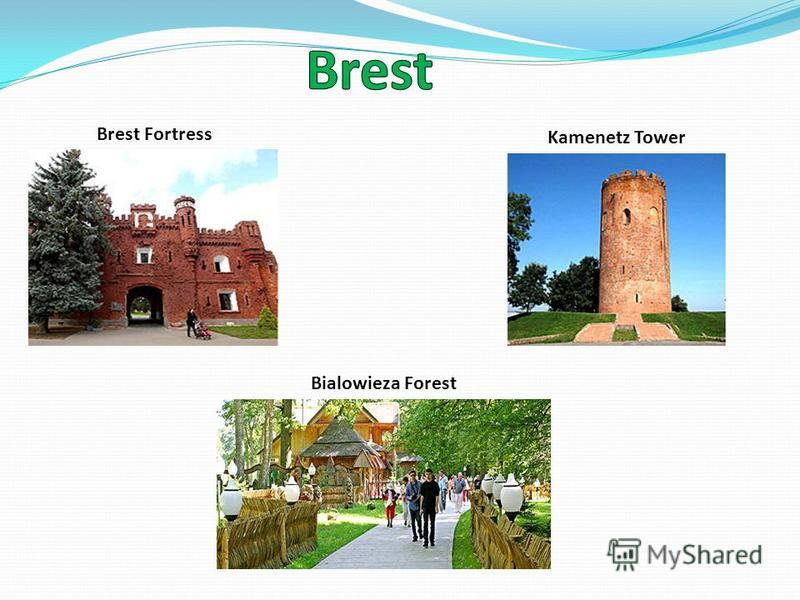 Brest Fortress Bialowieza Forest Kamenetz Tower