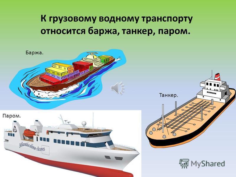 К пассажирскому водному транспорту относится теплоход, катер, круизный лайнер, лодка, катамаран, яхта и др. Теплоход. Катер. Лайнер. Лодка.