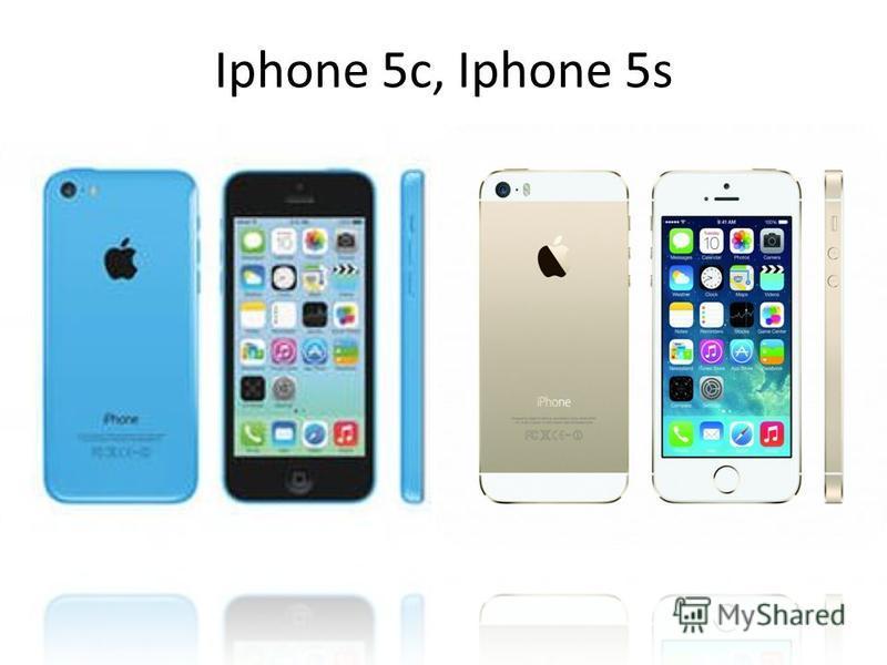 Iphone 5c, Iphone 5s